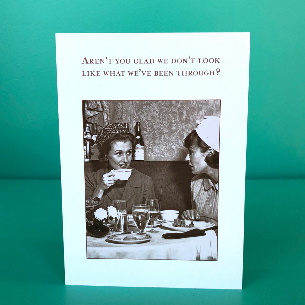 You Don't Look A Day Over Fabulous Birthday Card