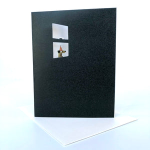 Red Cap Excited Birthday Card