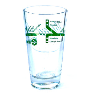 Transit Tees El Line Pint Glass (Multiple Styles!)