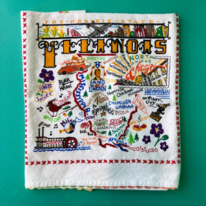 Catstudio Illinois Tea Towel
