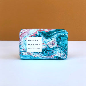 Mistral Marbled Soap (Multiple Scents Available)