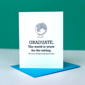 Fascist Graduation Card