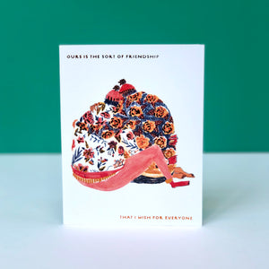 Seeding Hugs Friendship Card