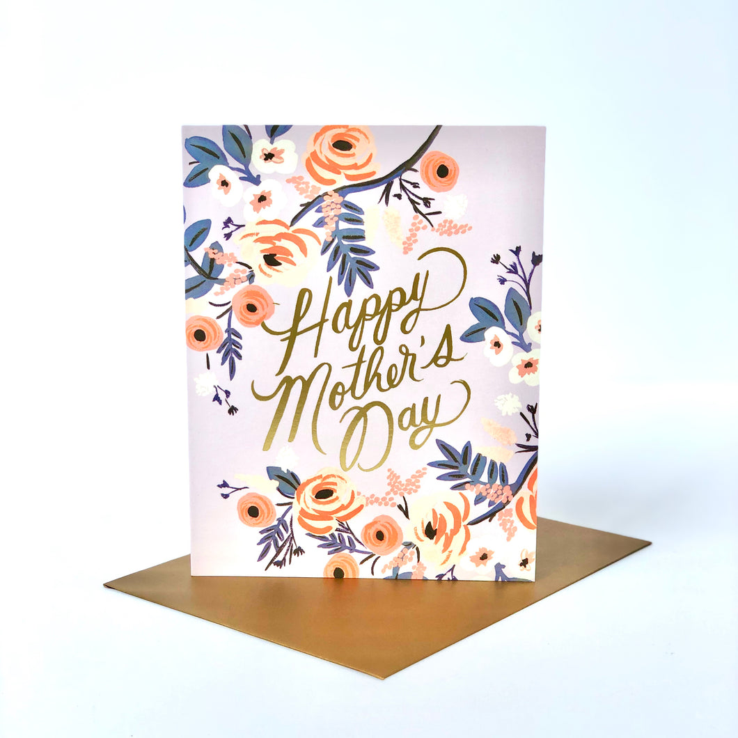 Rifle Rosey Mother's Day Card