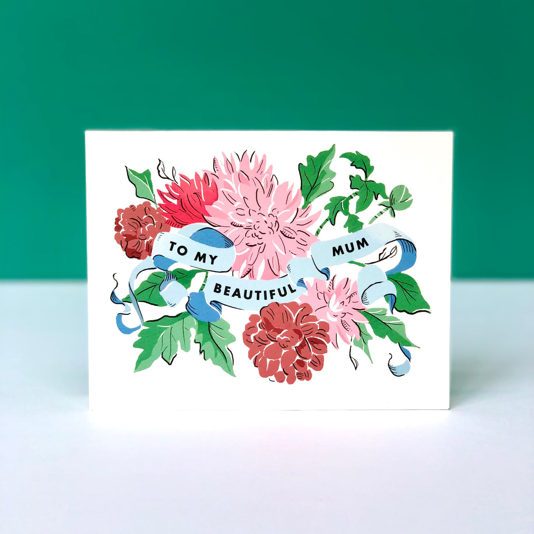 Beautiful Mum Mother's Day Card