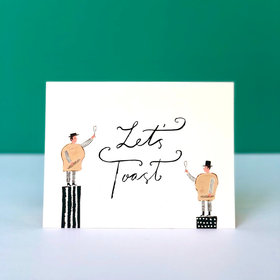 Let's Toast! Congratulations Card