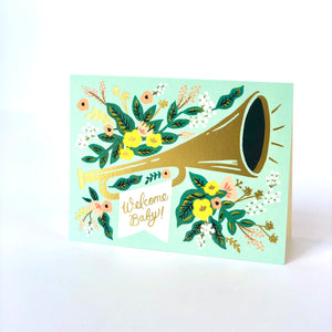 Rifle Welcome Baby Jubilee Card