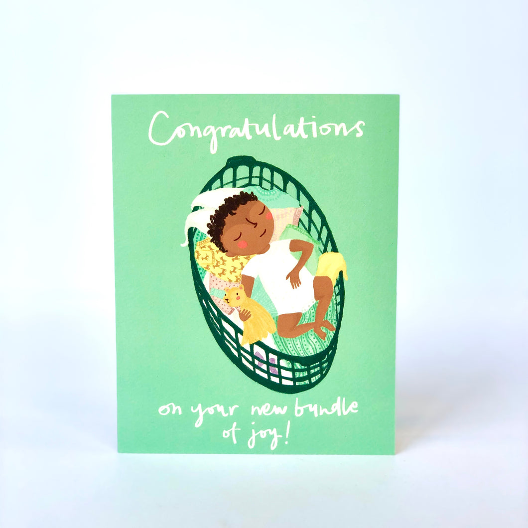 Congratulations On Your New Bundle Of Joy Card