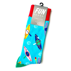 Fun Kayak Crew Sock