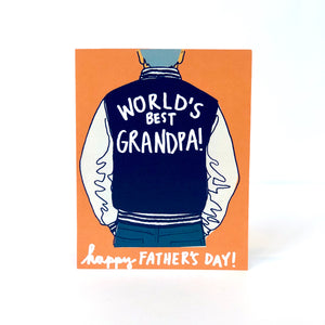 World's Best Grandpa Father's Day Card