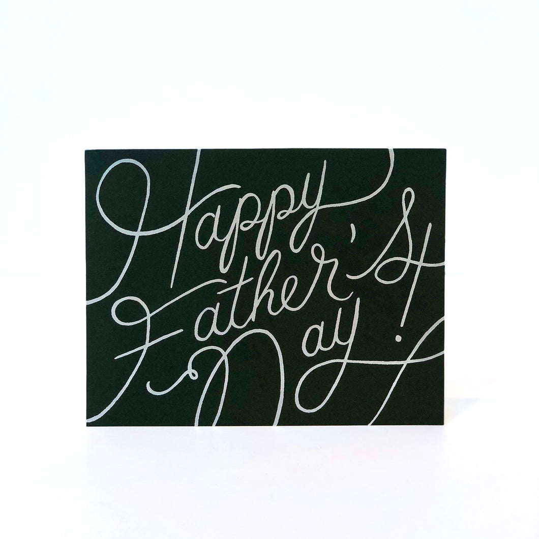 Rifle Platinum Father's Day Card