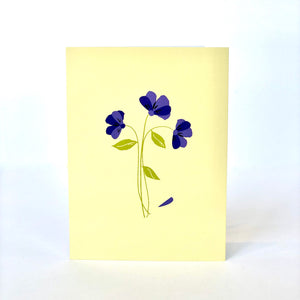 Forget Me Not Sympathy Card