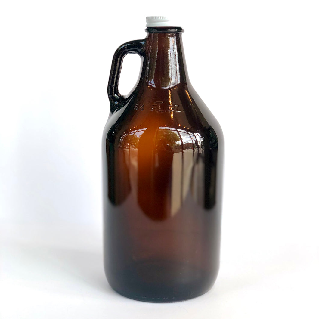 Glass 64 oz. Growler