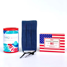 Load image into Gallery viewer, Red, White and Blue Combo Can Cooler Bundle