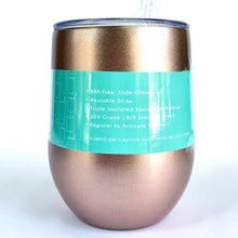 Load image into Gallery viewer, Swig 12 oz Metallic Wine Tumbler (Multiple Colors!)