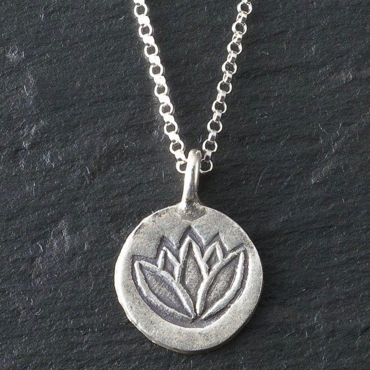Deana Rose Large Lotus Necklace