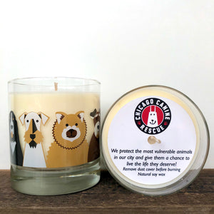 Chicago Canine Rescue Charity Candle