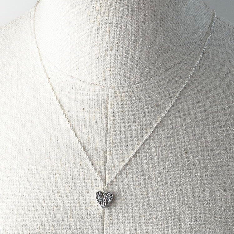 Deana Rose Ginny Heart Necklace Sterling Silver