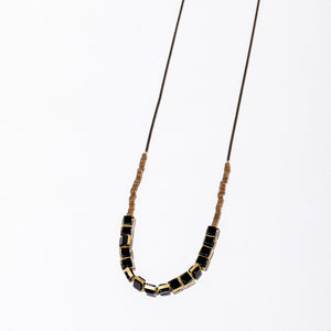 Larissa Loden Aquilo Necklace in Onyx