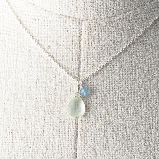 Deana Rose Prehnite Necklace