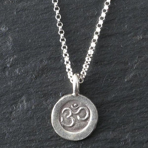 Deana Rose Small Om Necklace