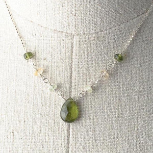 Deana Rose Vesuvianite Necklace
