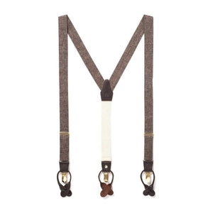 Classic Fabric Suspenders in Autumn Harvest