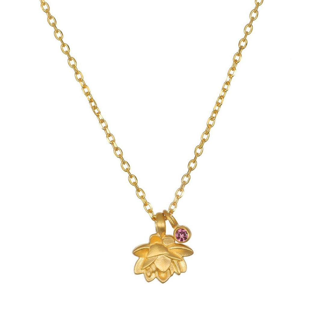 Satya Bloom In Peace Lotus Necklace