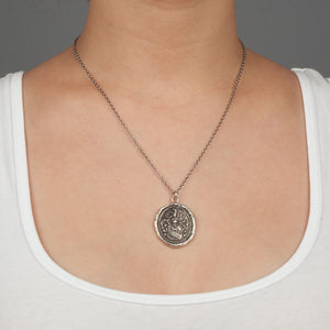 Pyrrha Heart Of The Wolf Necklace