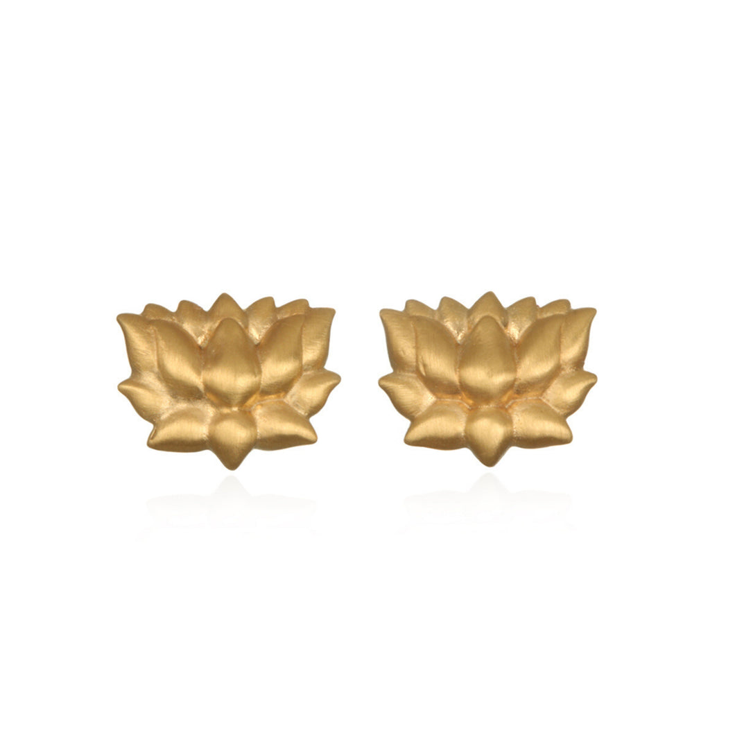 Satya Rooted In Possibility Lotus Stud Earrings