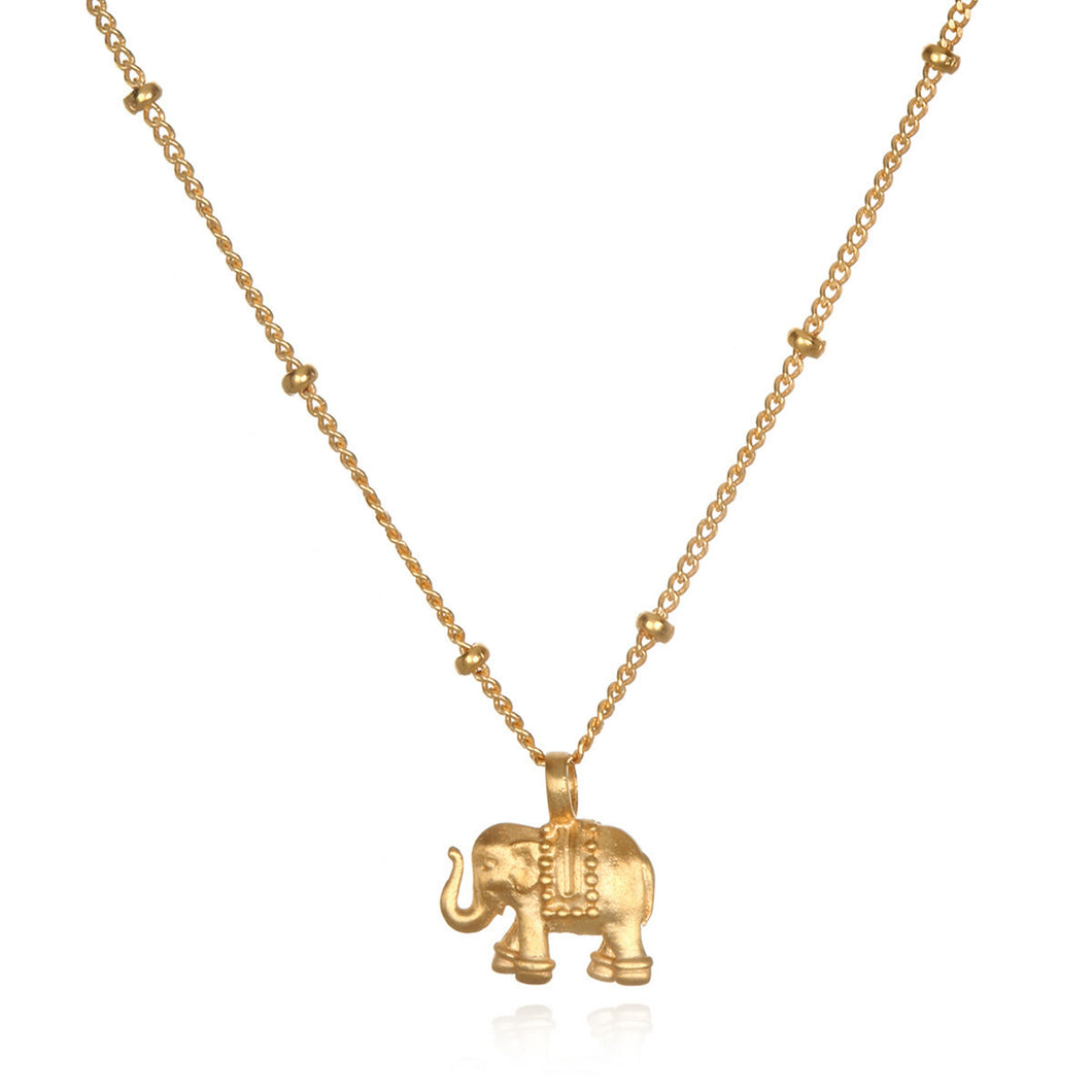 Satya Stand In Strength Elephant Necklace