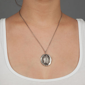 Pyrrha Three Graces Necklace