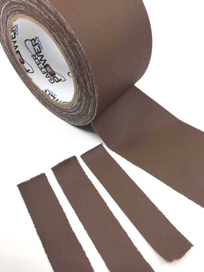 brown gaffers tape