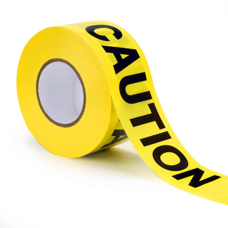 caution tape, hazard tape, tape for emergencies