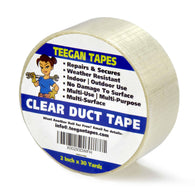 transparent duct tape, clear duct tape