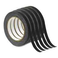Premium Grade Gaffer Power Gaffer Spike Tape-5 Pack (1/2 In X 20 Yards) Black
