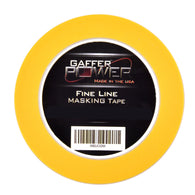 Gaffer Power Automotive Fine Line Striping Tape- 1/8 In x 60 YDS on 3