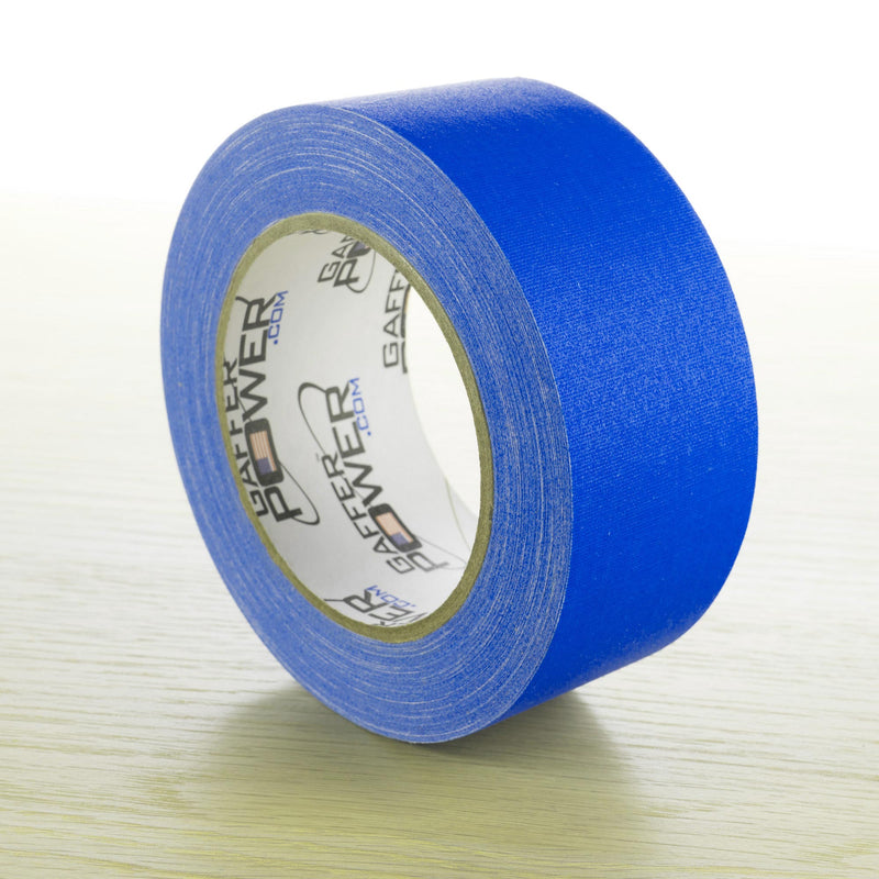 Gaffer Power Gaffer Tape, 2 Inch x 30 Yards - Electric Blue