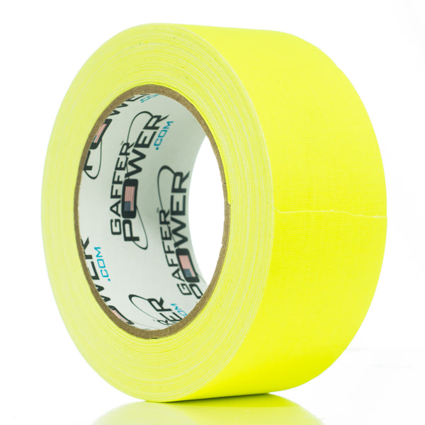 Gaffer Power Gaffer Tape Fluorescent Yellow - 2 inch x 30 yards