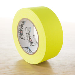 Gaffer Power Gaffer Tape, 2 Inch x 30 Yards - Yellow