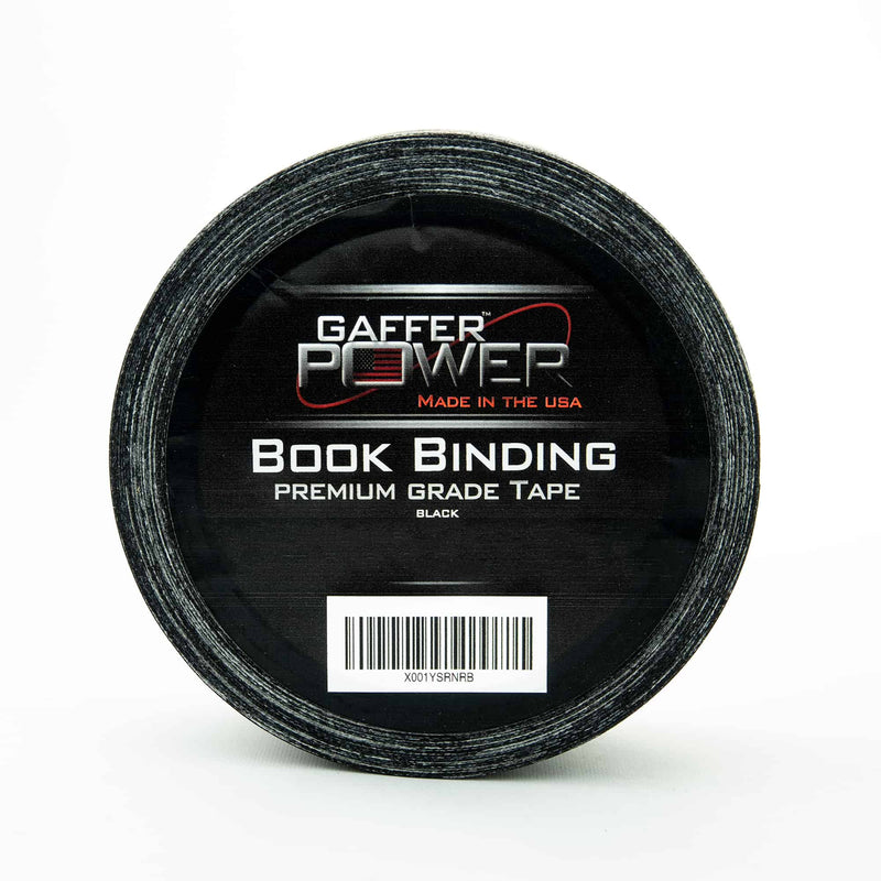bookbinding tape, book binding tape, black bookbinding tape, black book binding tape
