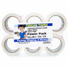 Teegan 6-Pack (2 In x 60 Yds ) Packing Tapes