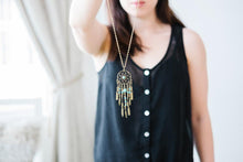 Load image into Gallery viewer, Dreamcatcher Pendant Necklace