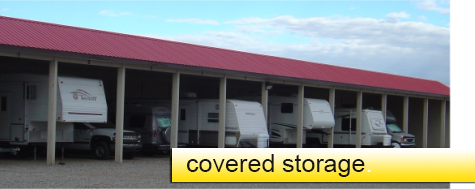 Top line sales and rentals - covered storage options
