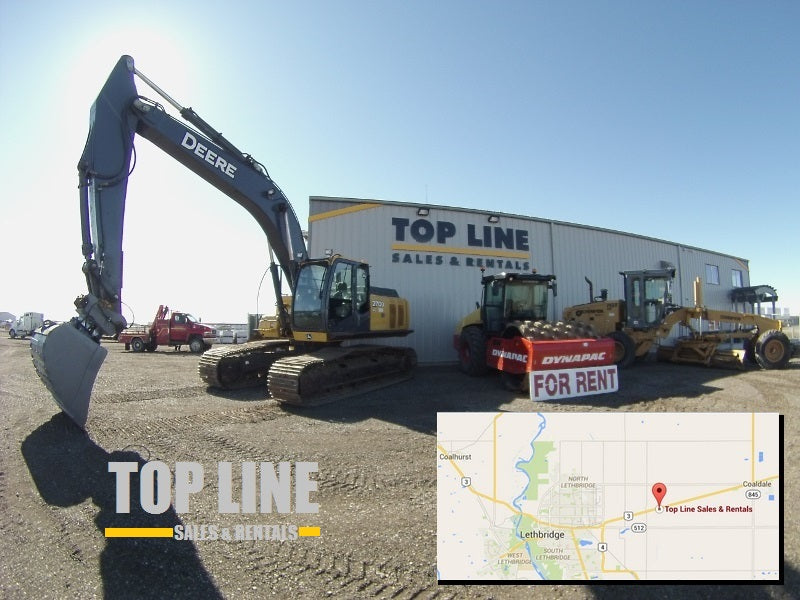 topline heavy equipment sales and rentals