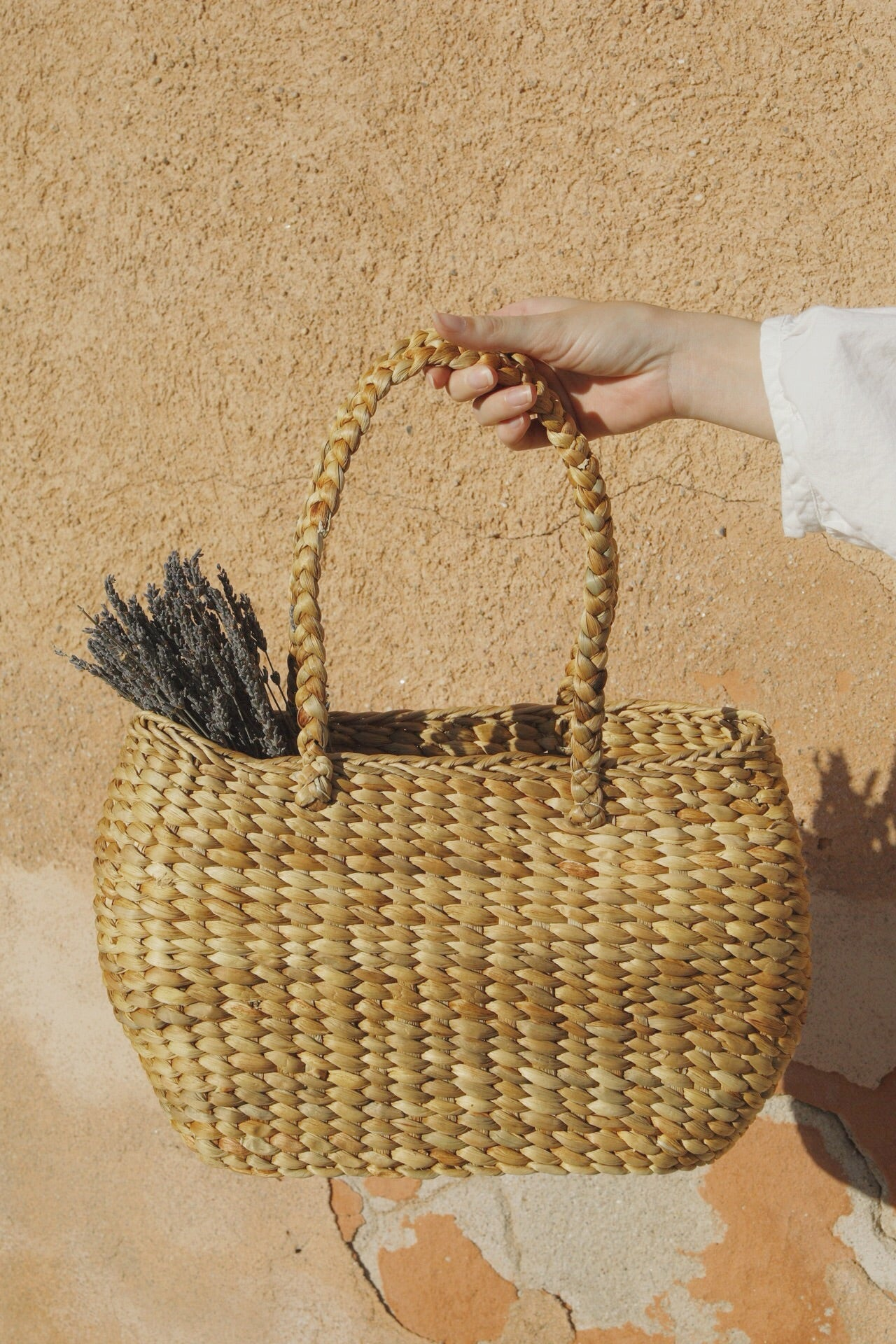 Handle Basket Bag
