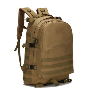 Military Tactical Backpack Bag - Army 45L Outdoor - Survivalways