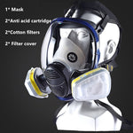 Load image into Gallery viewer, 7 in 1 Full Face Gas Mask Filter - Dust, Acid, Toxic Air, Chemicals - Survivalways
