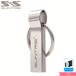 Load image into Gallery viewer, Metal USB Flash Drive - 128GB, 64GB, 32GB, USB stick, Metal Key Chain, High Speed, Waterproof - Survivalways