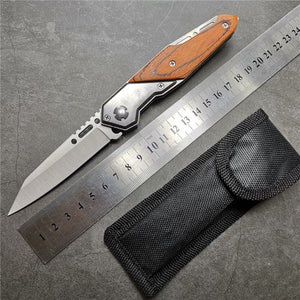 Pocket Tactical Knife 200mm (7.9'') - Blade Folding - Survivalways